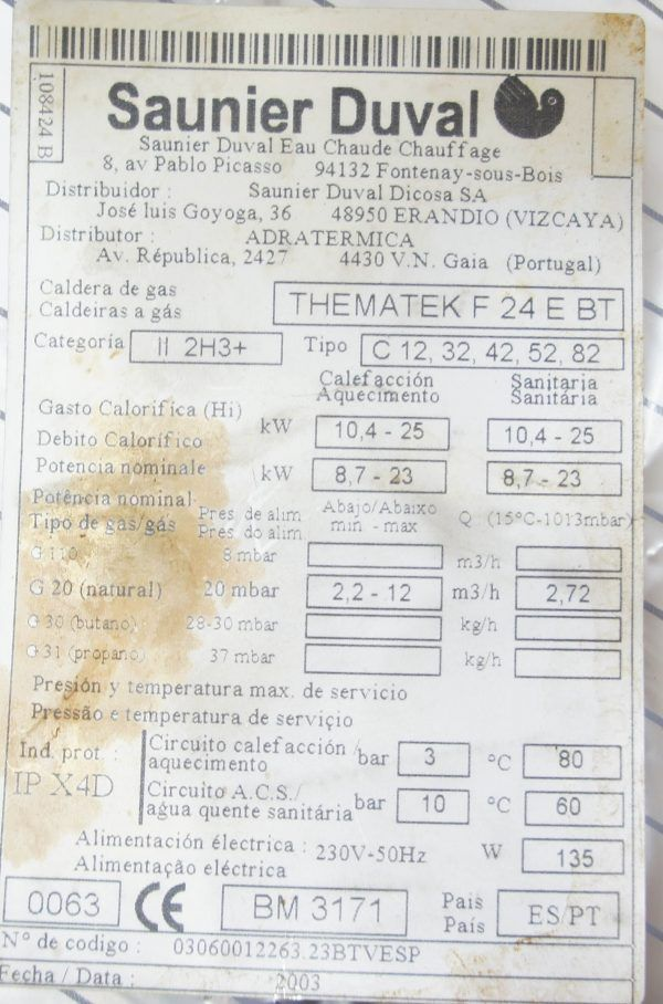 DISPLAY THEMATEK F24 E BT