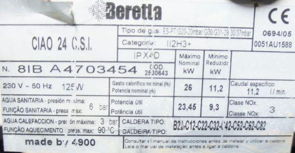 PLACA ELECTRONICA BERETTA CIAO 24 ESTANCA